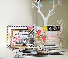 Polaroid Mini Albums  by magnette @Two Peas in a Bucket