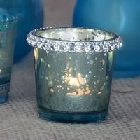 Bejeweled Candle Holders