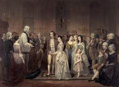 George and Martha Washington's wedding
