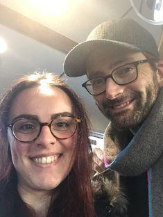 David Tennant and lucky girl