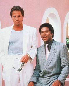 Sonny Crockett and Rico Tubbs  Miami Vice