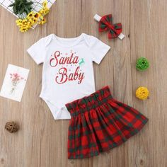 708ea719ff02 24 Best Baby & Newborn Christmas outfit images in 2019