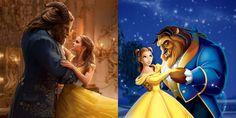 A Bela e a Fera: Vídeo compara cenas do filme com animação