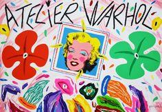 DONZELLI BRUNO - Atelier Warhol - Serigrafia Polimaterica  - 35 x 50 cm