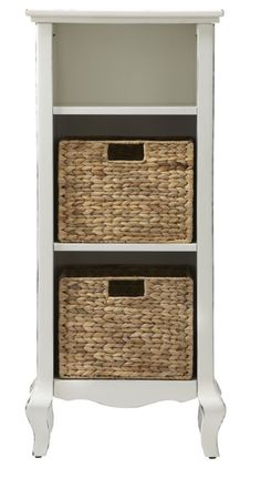 """""""I am obsessed with the scale of this – it's a great size for smaller bathrooms, a kid's bathroom or even a laundry room. I'm a big fan of natural textures in all areas of the home, especially the bathroom."""" Maddi, Buyer"""
