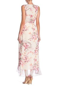 e34df3b7d634 Image of Dress Forum Floral Hi-Lo Mock Wrap Dress Wrap Dress