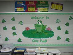 Frog Bulletin Boards