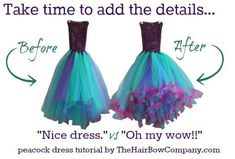 DIY fairy tutu dress tulle - Google Search