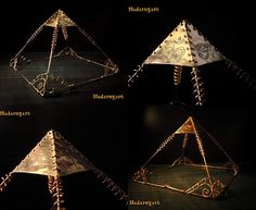 Piramida din cupru realizata manual. Pret 485 lei doar la comanda  . Pentru comenzi telefon: 0759165234 sau email: hadaruga.mihai@yahoo.com Email, Lei, Jewelry, Jewlery, Bijoux, Schmuck, Jewerly, Jewels, Jewelery