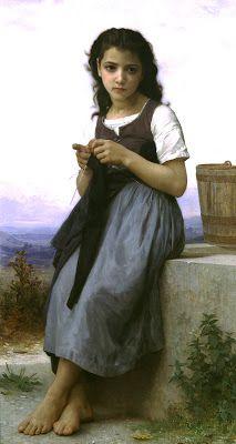 Adolphe William Bouguereau o el encanto de la nimiedad