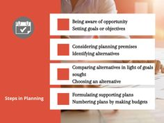 Steps in Planning Process