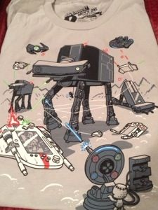 Console wars II shirt from my @Loot Crate #subscriptionbox review amazing box