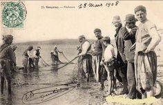 İzmir'de balıkçılar Greek History, Ottoman Empire, Istanbul, The Past, Coast, Photo And Video, City, Painting, Armenia