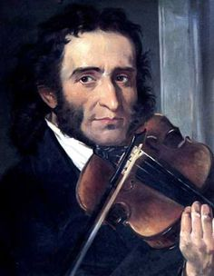 The one and only #Paganini...  #Violin http://amzn.to/Ri7TR5