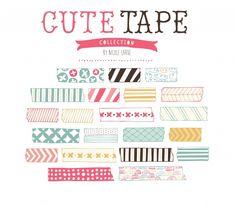 Washi Tape Verschieden Designs Spielzeug