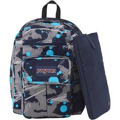 """Jansport Digital Student Backpack Mammoth Blue Super Splash 15"""" Laptop Tablet #Jansport #Backpack #OrlandoTrend"""
