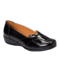 Look at this #zulilyfind! Black Contour Loafer by National Fashions Imports, Inc  #zulilyfinds. $21.99