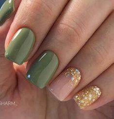 43 Super Fun St Patricks Day Nail Art Ideas – Popular pins for you 2020 Cute Pedicures, Cute Nails, Pretty Nails, Green Nail Designs, Nail Art Designs, Glitter Nails, Gel Nails, Shellac, Glitter Lipstick