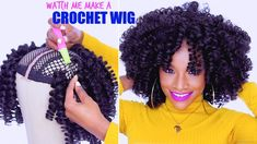 WATCH ME SLAY THIS CROCHET WIG! [Video] - https://blackhairinformation.com/video-gallery/watch-slay-crochet-wig-video/