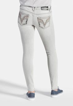 vigoss � jegging in gray (original price, $78) available at #Maurices