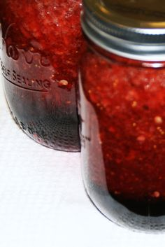 Pinks Posts...: I'm a Can-Can Canner! (Spicy Strawberry Jam)
