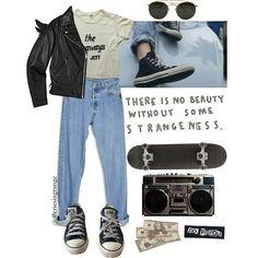 #grunge #alternative #punk #rock #outfit -A