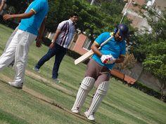 Great Half century - Batsman at PCCare247 Cricket Tournament 2012