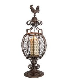 Another great find on #zulily! Rooster Candleholder #zulilyfinds - $39.99