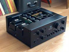 Hifi Music System, Audio System, Recording Equipment, Audio Equipment, Room Acoustics, Diy Speakers, Audio Room, Stereo Amplifier, Audio Sound