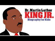 Black History Month: Martin Luther King Jr Mini Bio. A Cartoon on Martin Luther King Jr for Kids! - YouTube