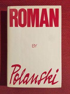 Roman Polanski ~Roman Autogiography 1st Editon Hardcover Dust Jacket Illustrated