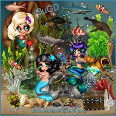 Dagny`s Scrap und Grafik Design: PU Kit Underwater World