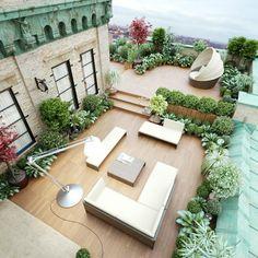 Chaque maison a besoin d'un jardin avec une pelouse verte. Donc dans la galerie ci-dessous, on va montrer des variantes pour comment aménager sa terrasse!!!