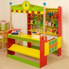 BigJigs Village Shop, cute idea