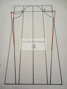 La manga de Flamenca es tan importante como el diseño del vestido. Este post va dedicado a la mujer que se viste de Flamenca , también par... Pattern Drafting, Couture, Sewing Techniques, Dressmaking, Needlework, Sewing Projects, Sewing Patterns, Stitch, Regional