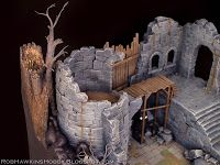 Welcome to my Wrath of Kings terrain gallery! The displays and diorama were commissioned by Cool Mini or Not for their miniatures game....