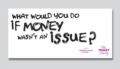 The Money Charity business card