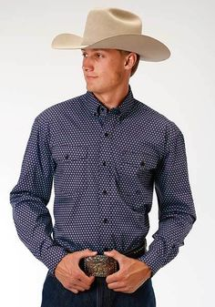 Roper Men's Western Shirt Style 03-001-0325-0469