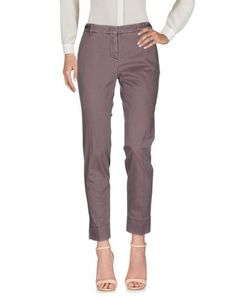 PESERICO SIGN Women's Casual pants Mauve 10 US