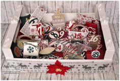 advent calendar, calendario dell'avvento, gift box, christmas