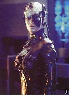Seven of Nine while Borg