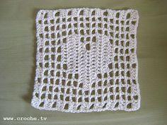 lovely filet crochet pattern