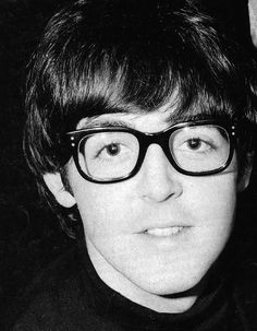"""It's Paul McCartney in pretty princess glasses. He wants to say, """"Please love me."""" This pic is pretty awesome."""