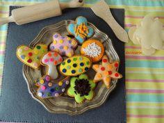 Felt Baking Set Felt Food Felt Cookies Eco friendly by decocarin