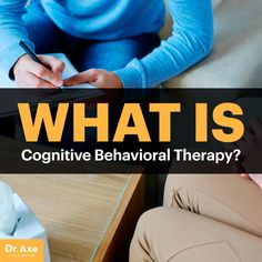 Cognitive behavioral therapy - Dr. Axe http://www.draxe.com #health #holistic #natural