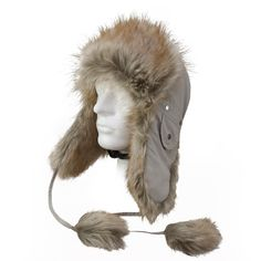 There is nothing more comfortable than a warm beanie at cold winter days. Finally, most of the body heat escapes over the head. To reduce the risk of serious head injuries is an normal beanie not sufficient. In particular, helt-pro® offers a beige fur hat Dimitrij Polar with an integrated head protection in cool design. For all, despite icy temperatures like to bicycle or skiing.