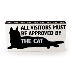Cat Approved Plaque
