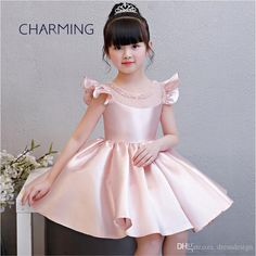 Baby Girl Frocks, Frocks For Girls, Gowns For Girls, Dresses Kids Girl, Flower Girl Gown, Flower Girls, The Dress, Baby Dress, Vestidos Boutique