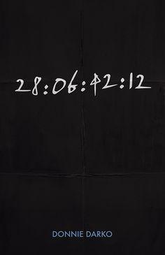 Donnie Darko (2001) ~ Minimal Movie Poster by Angela Skinner #amusementphile