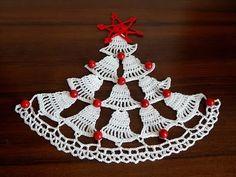 How to crochet Christmas tree  Crochet tree  Christmas motif  Step by step  Part 1